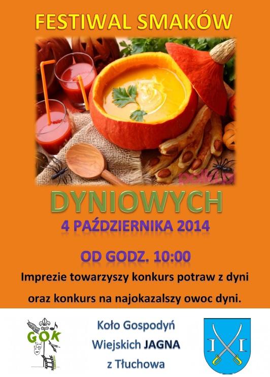 jpeg plakat festiwal smakow dyniowych
