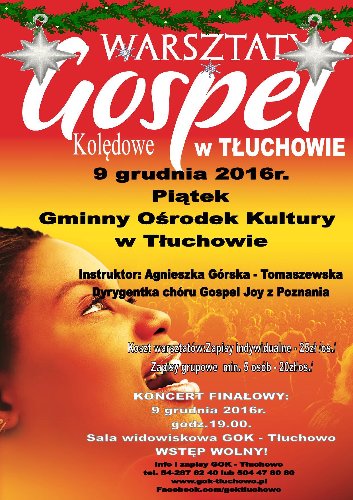 plakat-gospel-warsztaty-tluchowo-2016